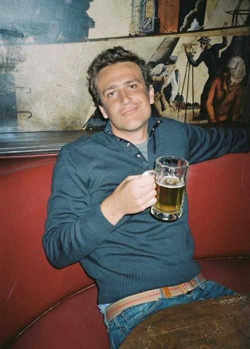 Jason Segal - funny and sexy.