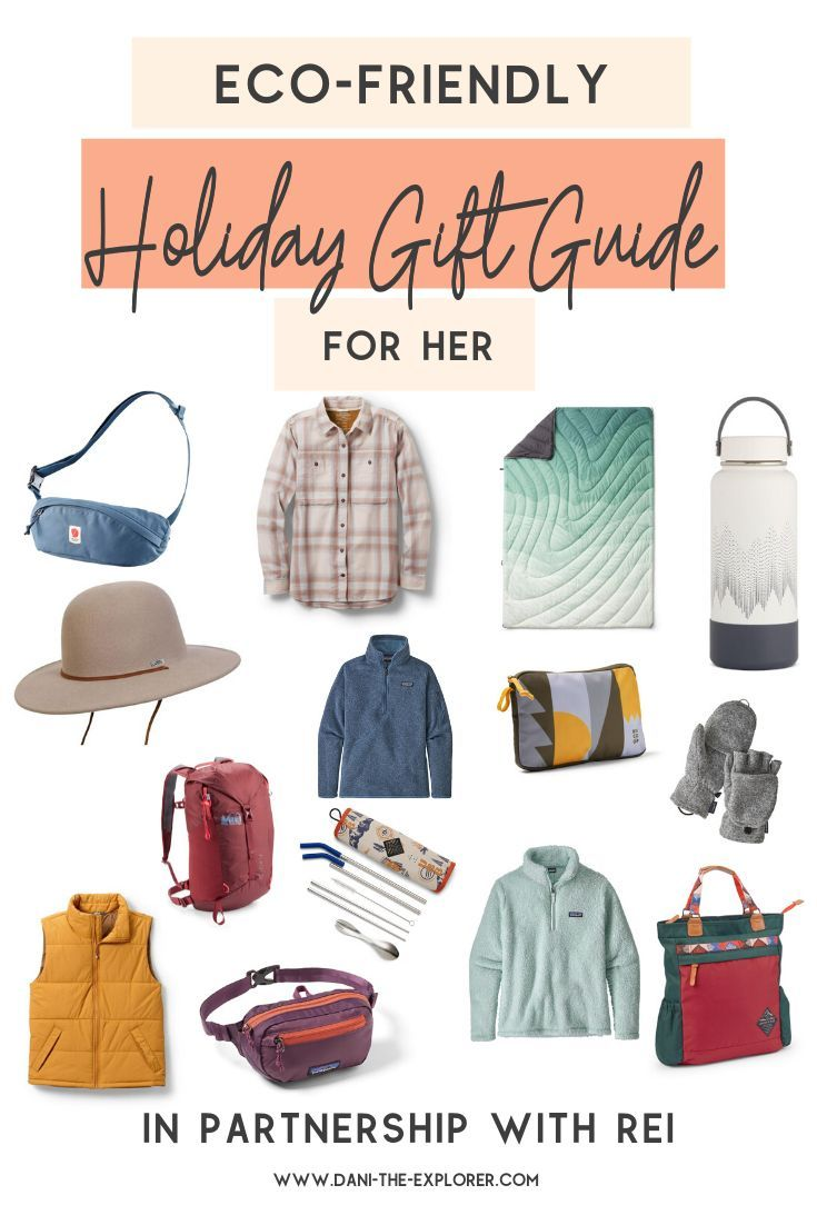 Ecofriendly gifts the explorer in your life will love