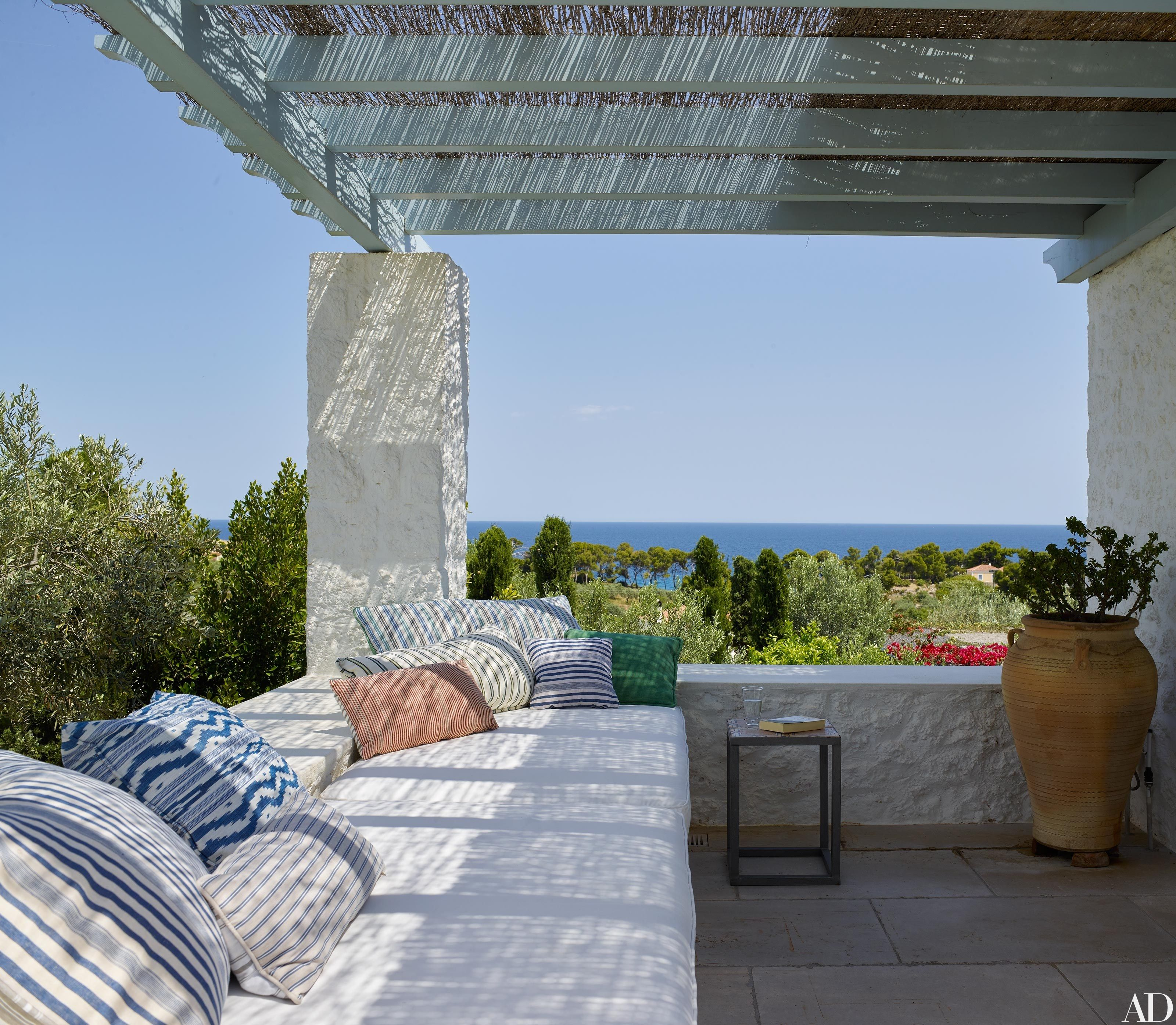 A Compound Of Villas In The Greek Islands Is Transformed For
