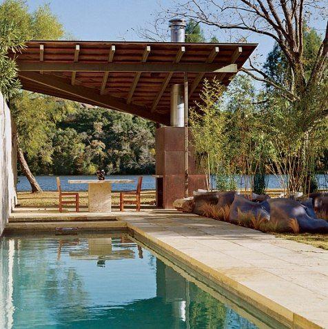 dock patio & fireplace