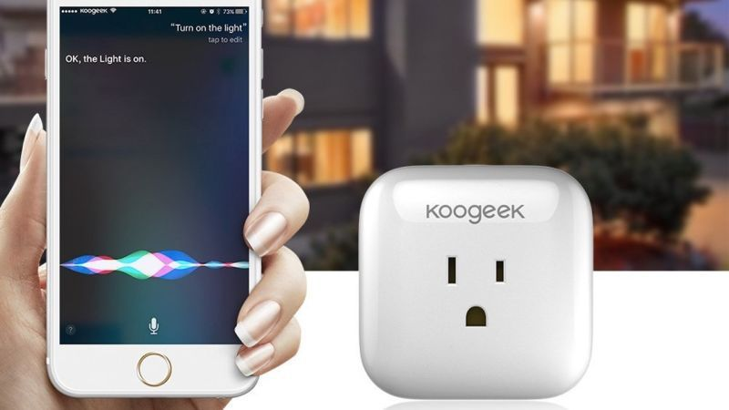 Koogeeks Affordable Smart Plug Speaks Siris Language
