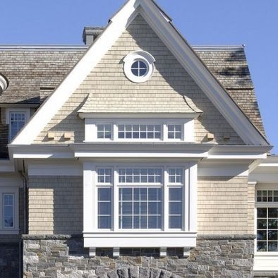 Exterior Corbels For Bay Window Overhang Like This Roof