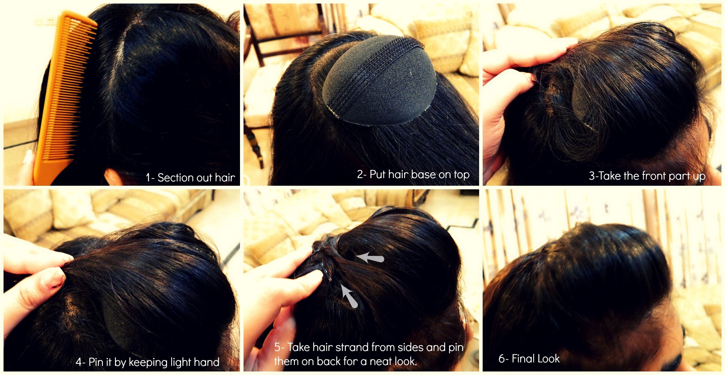 How To Make A Hair Pouf So Helpful For My Dance Show Tomorrow Hair Puff Hair Styles Easy Hairstyles