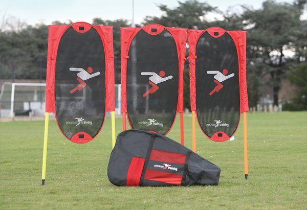 Football Training Folding Free Kick Man Kit with Poles
