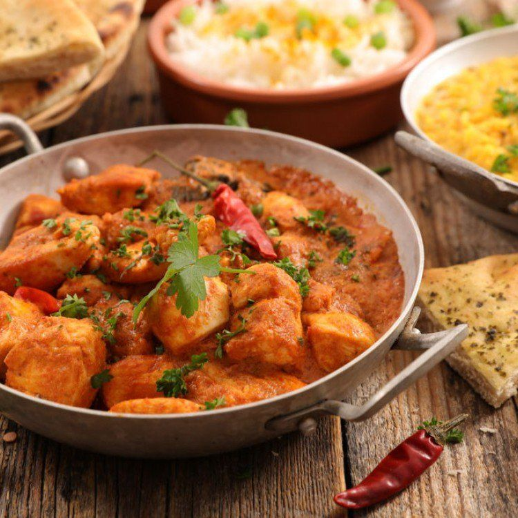 ناشف دجاج هندي مطبخ سيدتي ส ตรอาหาร อาหาร