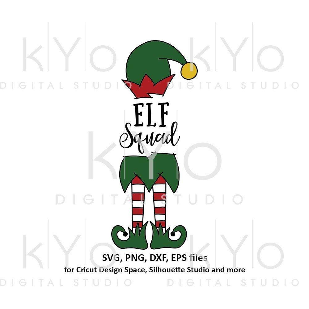 Elf Squad Christmas Svg Files Christmas Svg Files Christmas Svg Elf Clipart