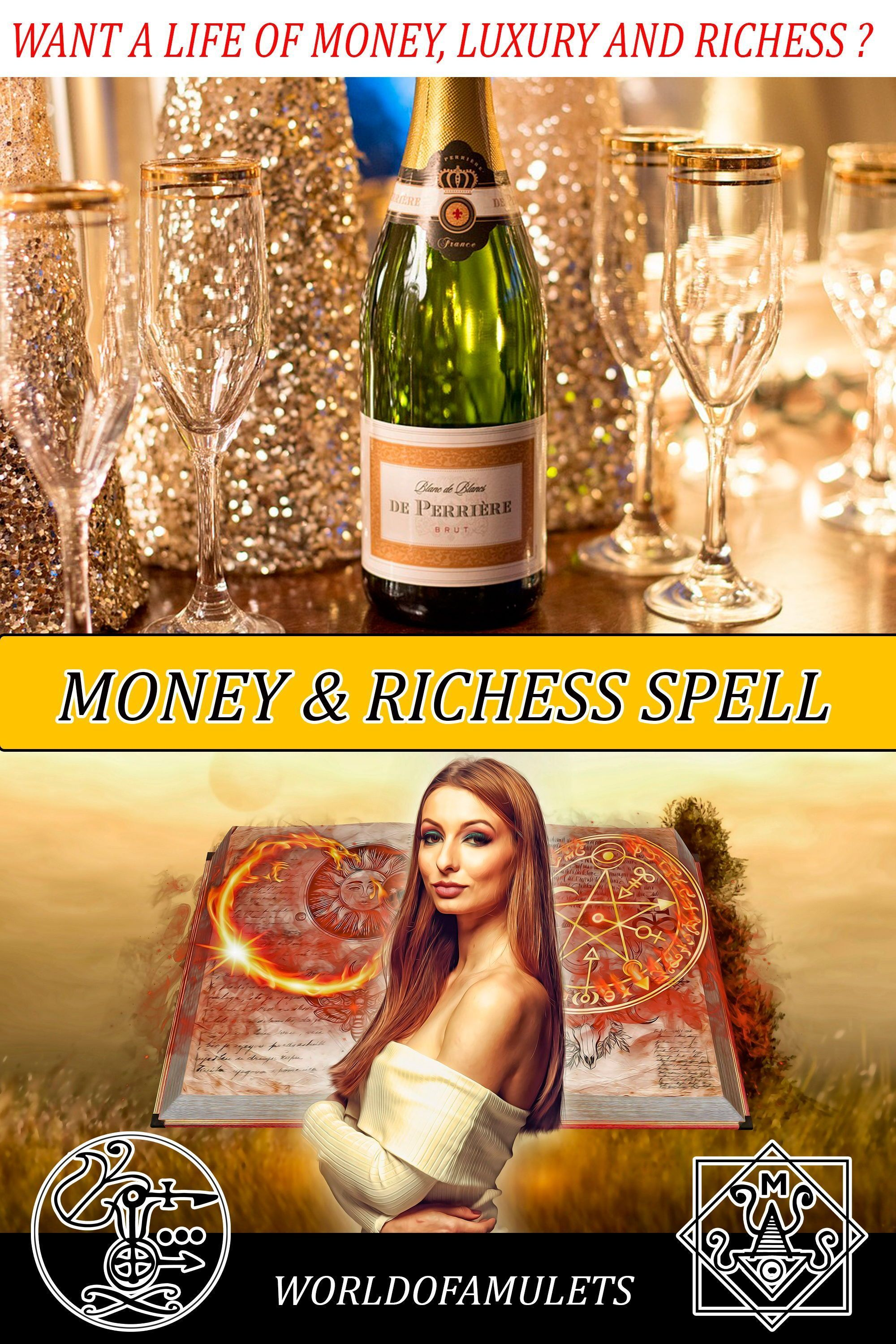 Witchcraft Wealth and Money Spell with Baal School of witchcraft and Wizardry School Beginner Witchcraft Spells #moneyspells Want a life of richess, money, wealth, expensive jewelry, luxury cars and homes and dream vacations?  Our Money Spell can make this true. Check the reviews  #money #spell #wealth #richess #moneyspell Witchcraft Wealth and Money Spell with Baal School of witchcraft and Wizardry School Beginner Witchcraft Spells #moneyspells Want a life of richess, money, wealth, expensive j #moneyspells