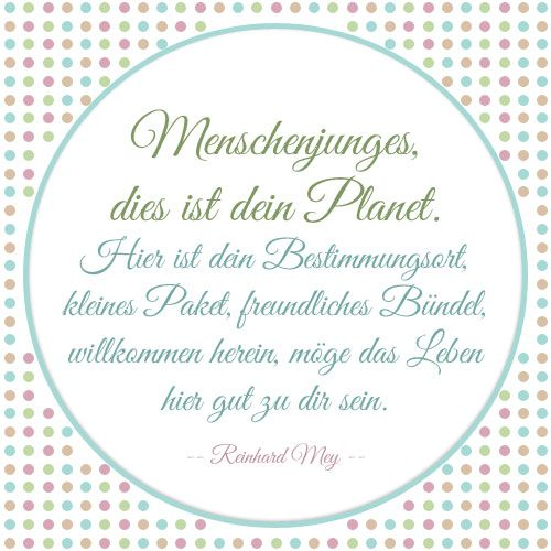 sprueche zur geburt 06 words pinterest planets babies and zitate. Black Bedroom Furniture Sets. Home Design Ideas