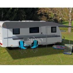 Photo of Awning for caravans 450 x 240 cm Como 6 anthraciteCampingshop-24.de
