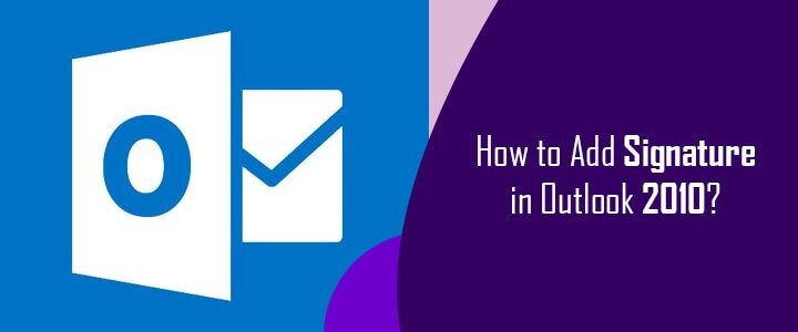 How to Add Signature in Outlook 2010? (With images) Add