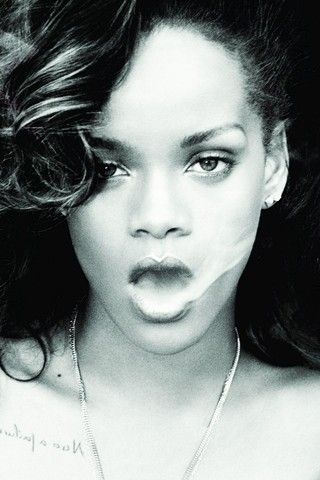 Smokin' Hot Rihanna iPhone Wallpaper Wallpaper, Desktop
