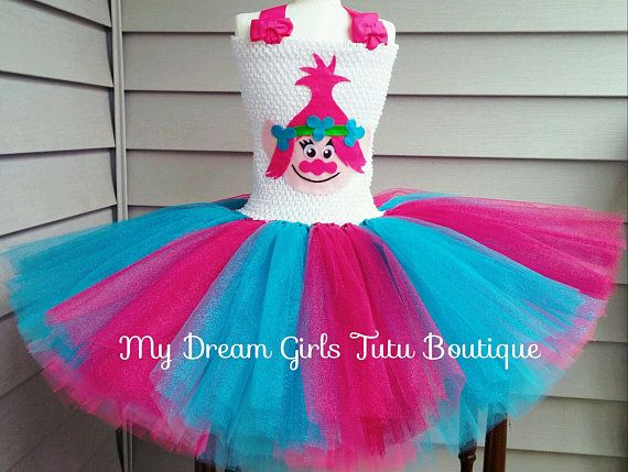 8554e70043b56 Dreamworks Trolls Costume Ideas for Kids | Craft table | Princess ...
