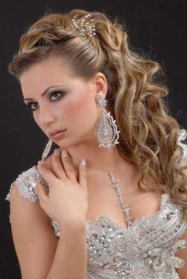 Maquillage Libanais Oriental Pour Un Mariage Robe