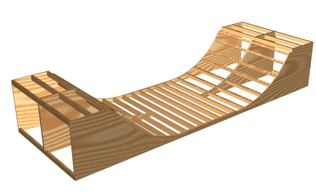 Skateboard Half Pipe Design Plans
