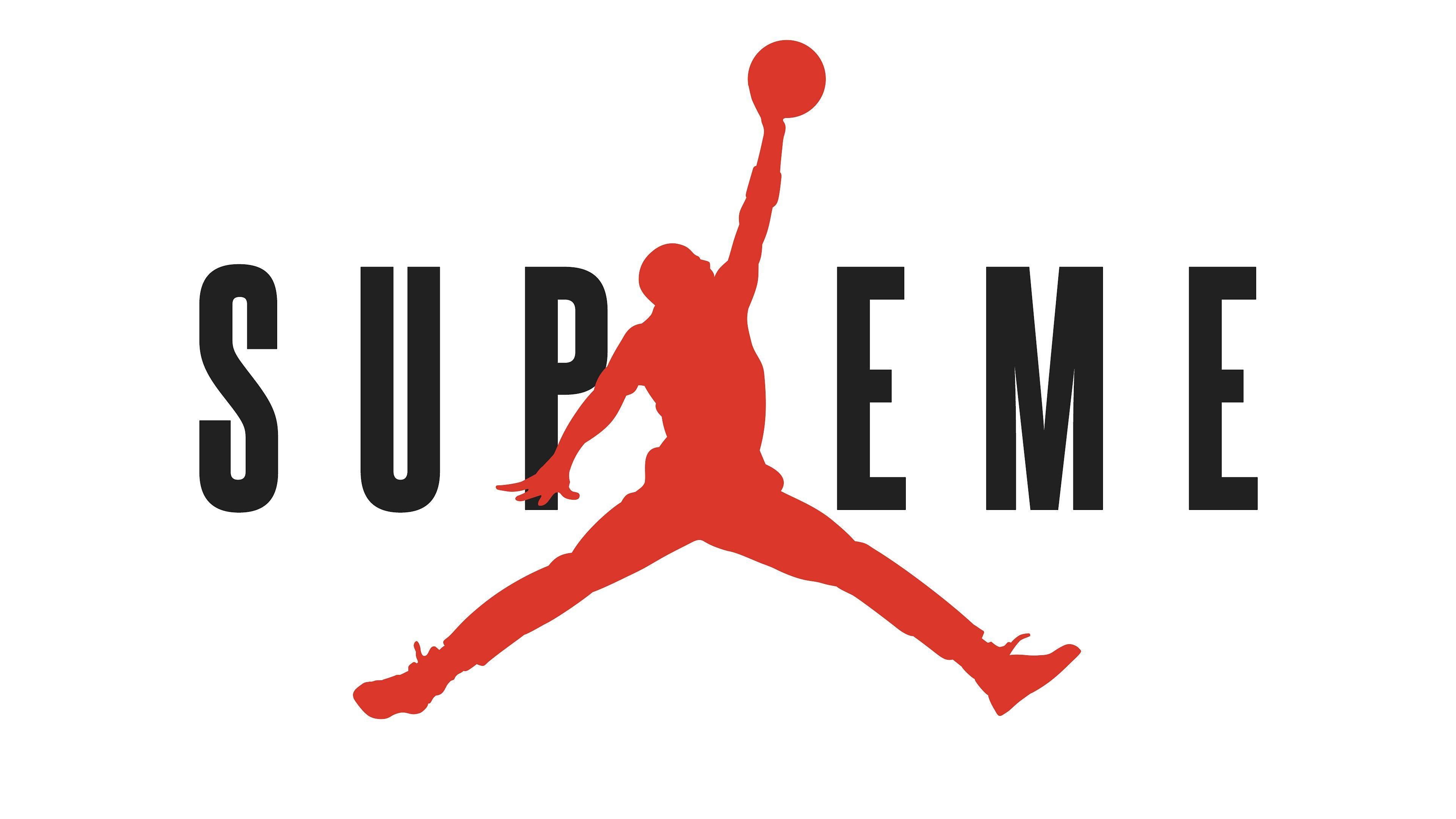 supreme x jordan 4k wallpaper (con imágenes) Logotipos