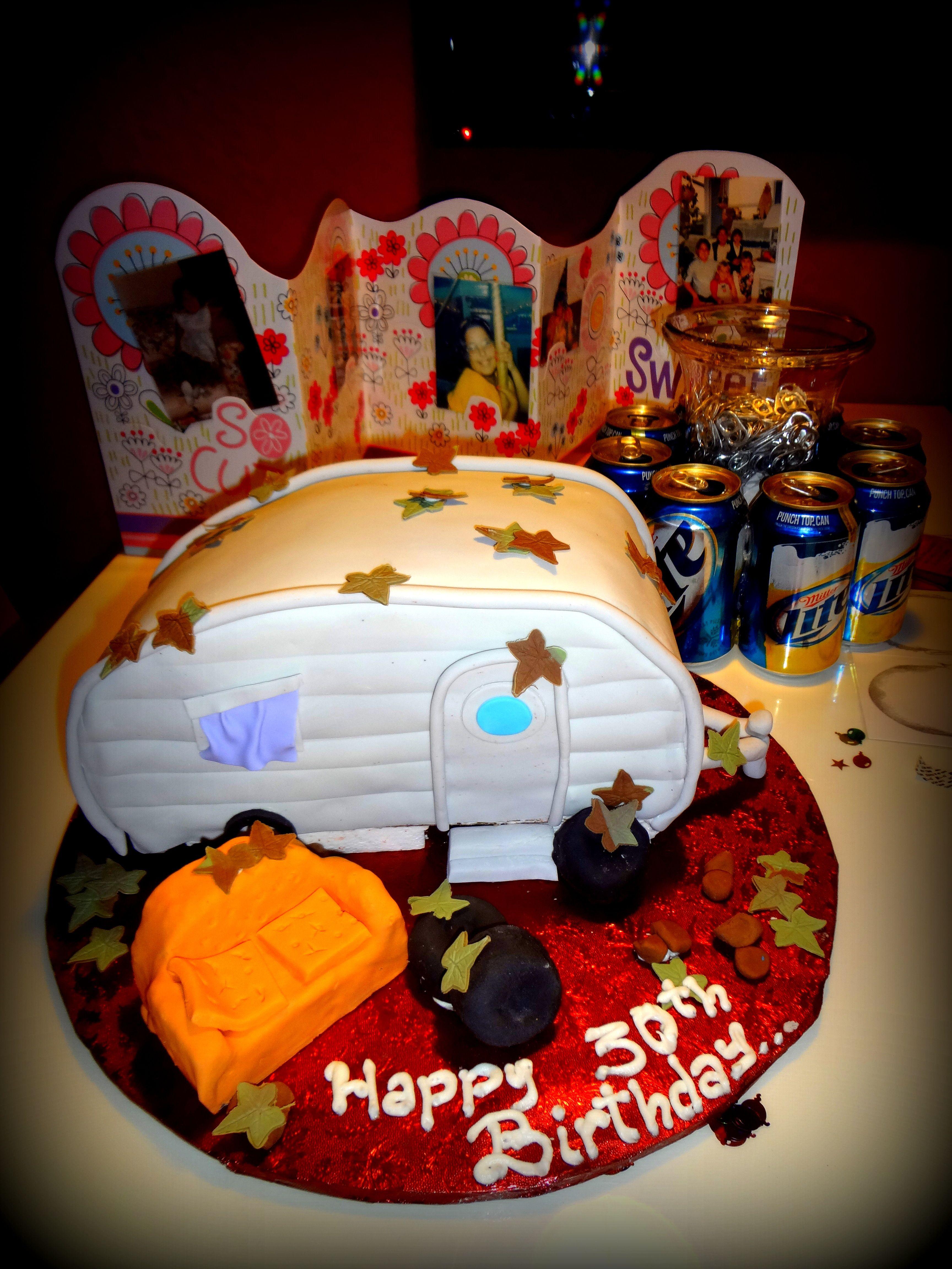 My Trailer Trash Bday Cake Thanks Cakes By Samira
