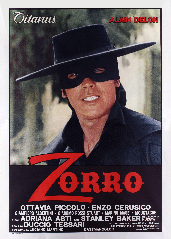 Cartel Italiano De El Zorro Zorro Afiche De Pelicula Titulos De Peliculas