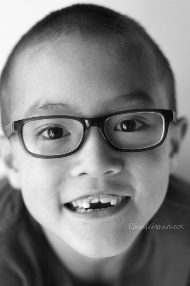 How my son's first pair of glasses gave me the worst mom guilt ever