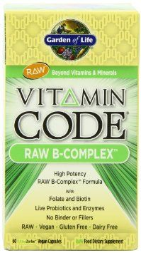 Amazon Com Garden Of Life Vitamin Code Raw B Complex 60 Vegan Caps Box Health Personal Care Vitamin Code Garden Of Life Vitamins Vitamin B Complex
