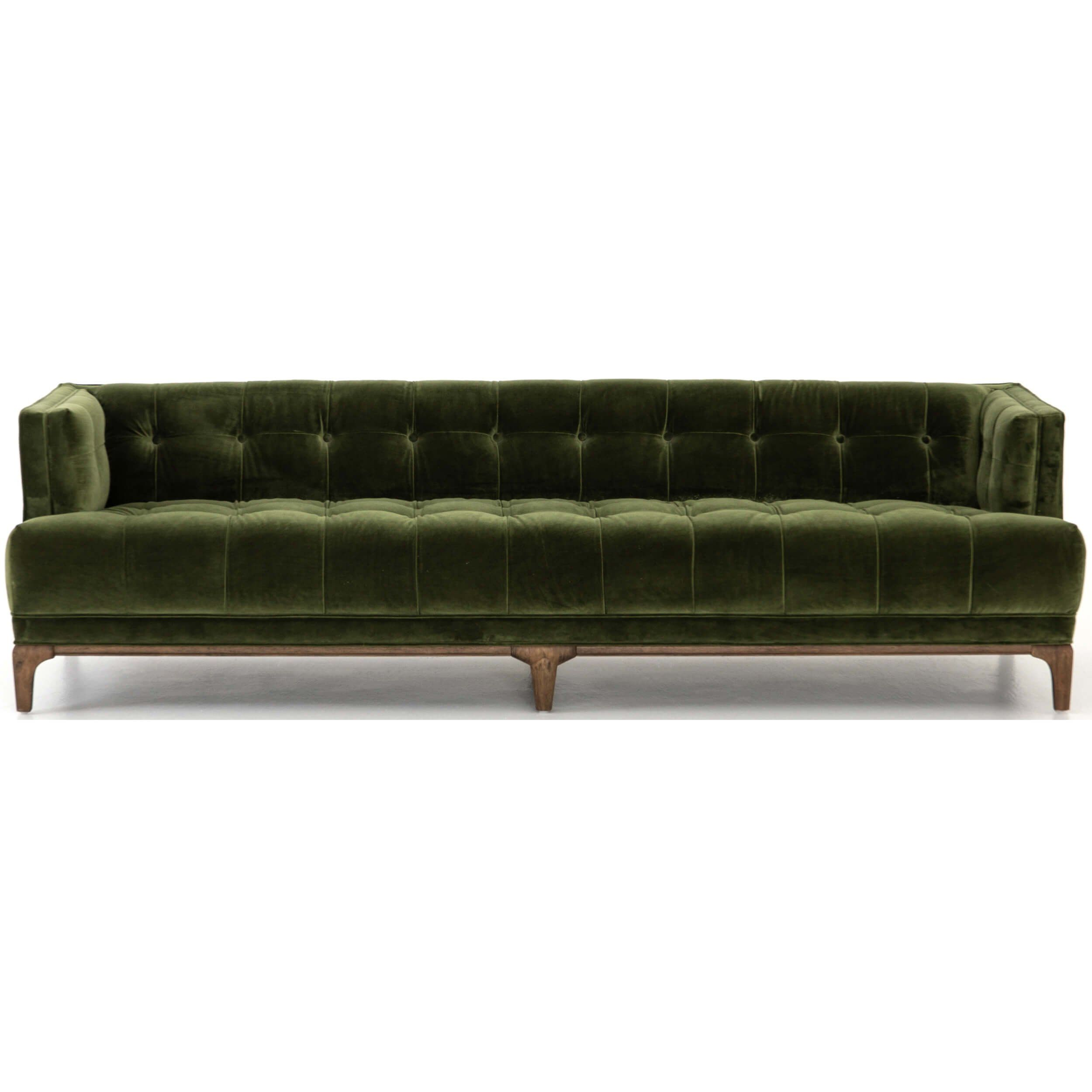 Dylan Sofa Sapphire Olive Contemporary Couches Sofa Modern Sofa