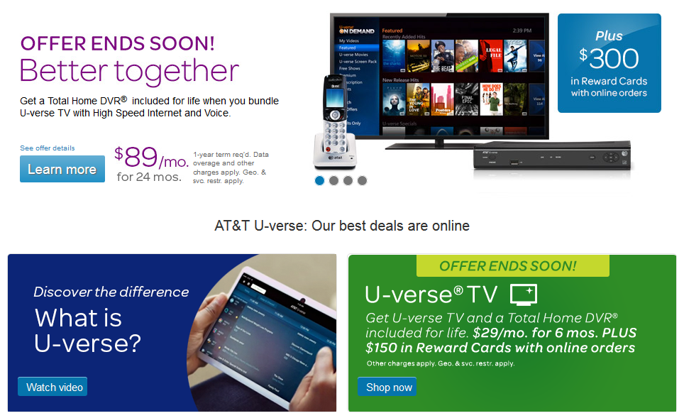 Att checkout the latest att u verse deals available online at att promo codesatt vouchers and att discounts for january use att promo code and save money fandeluxe Gallery