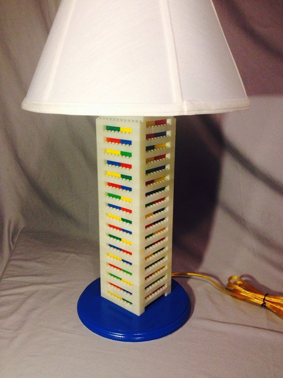 Lego lamp xxl big tall white multicolored lego lamp legos and lego lamp xxl big tall white multicolored aloadofball Images