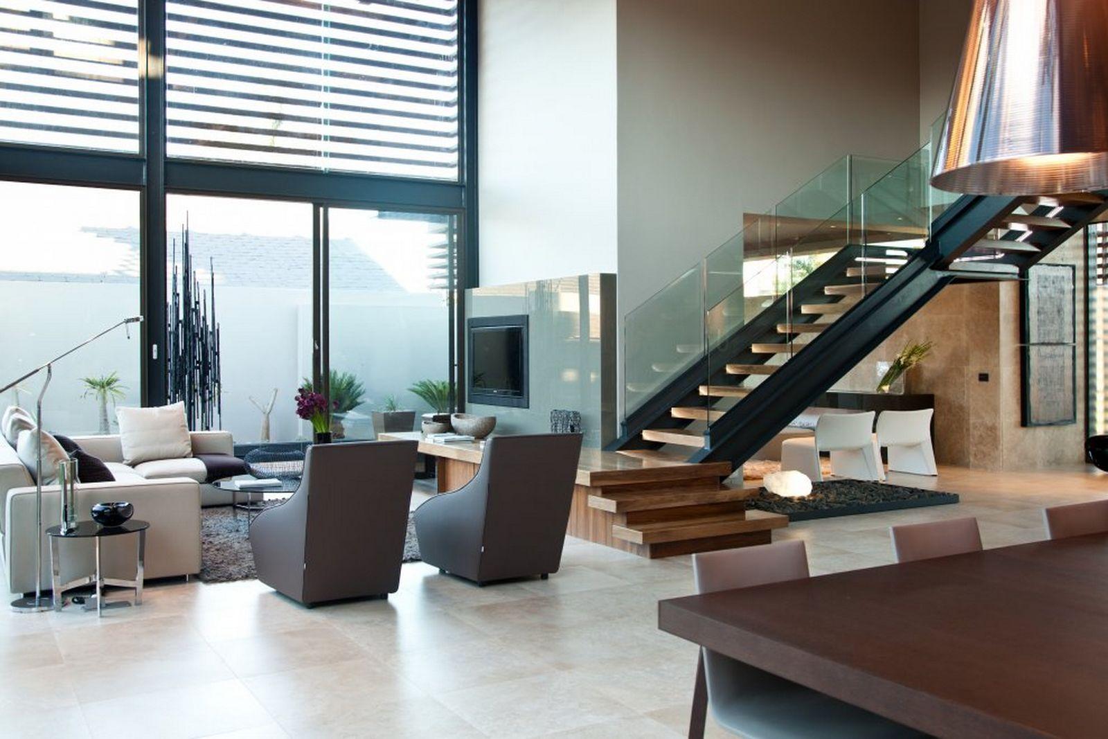 Modern Tropical Home Ideas Interior Stair