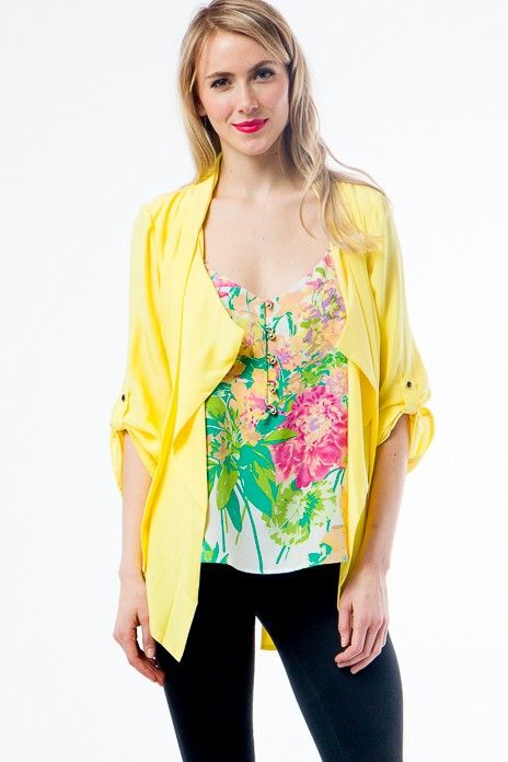 Yumi Kim Claudia Jacket 209 Yumikim Yellow Fashion Fever