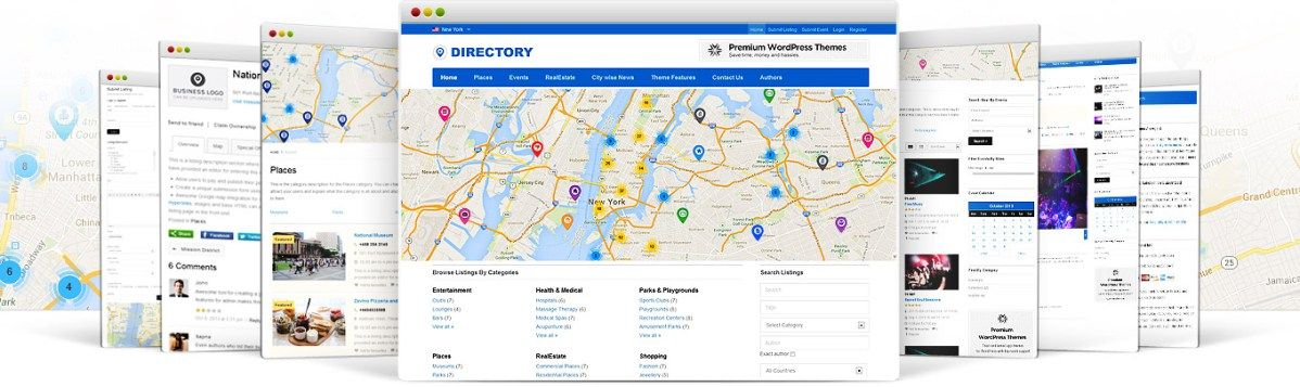 Directory-2 v2.0.6 - WordPress Directory Theme Free Download ...