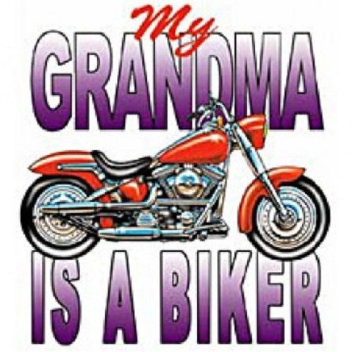 My Grandma Is A Biker Children's Youth Size by AlwaysInStitchesCo, $11.50
