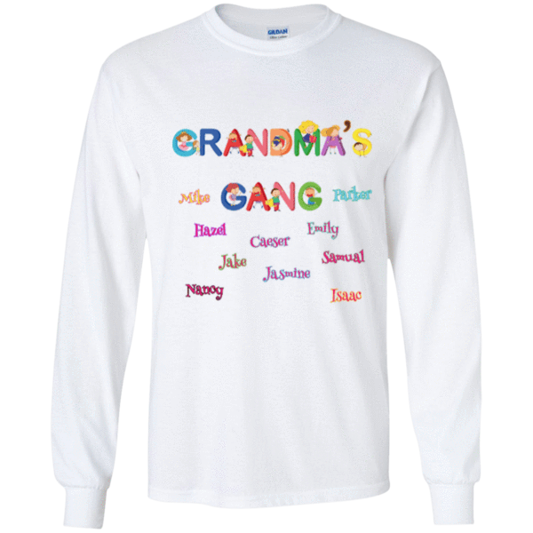 aa3305013 Grandma's Gang   Language   Shirts, Gifts for mom, T shirt