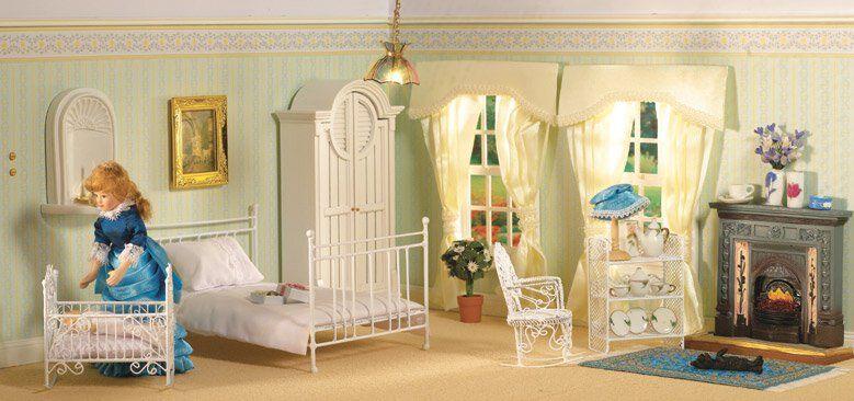 Dollhouse Bedrooms - Estella loves the early morning sunshine