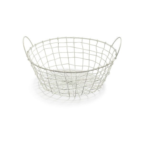 Decorative Wire Basket ($10) ❤ liked on Polyvore featuring home ...
