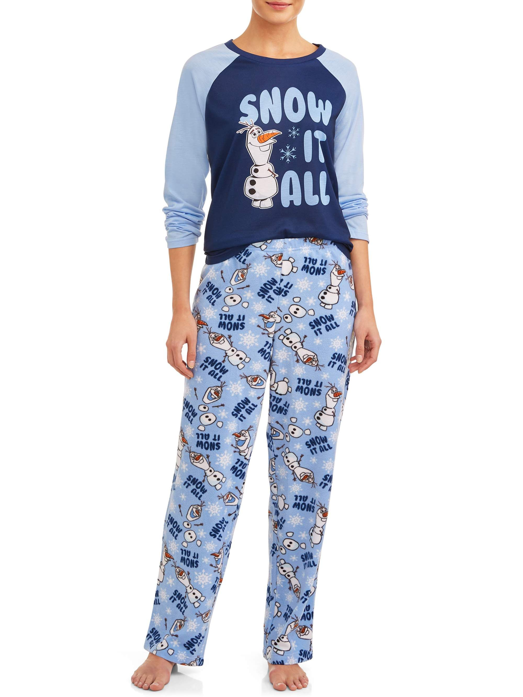 New Disney Pajamas Found At Walmart That Are Cute and