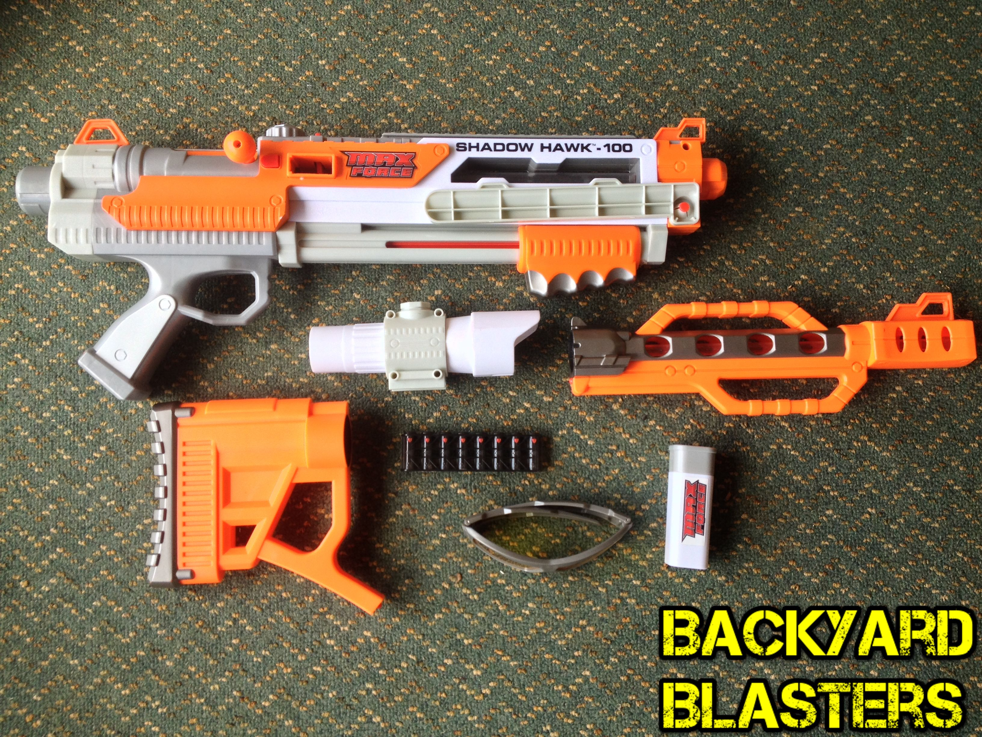 this might be a hard one can you name this blaster no it is