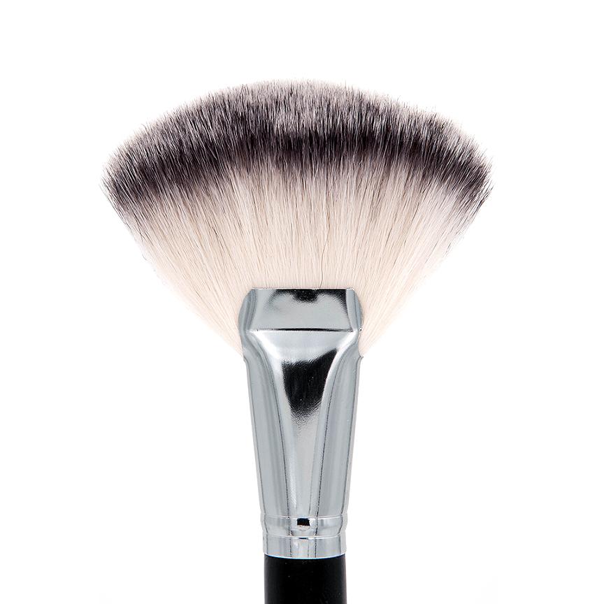 SS023 Deluxe Fan Fan brush, Crown makeup brushes, Brush