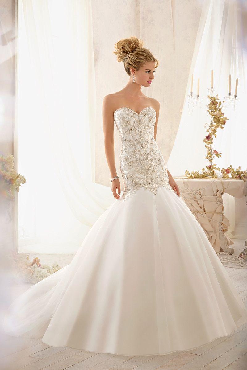 Wedding Dress Photos Wedding Dresses Pictures Drop Waist Wedding Dress Mori Lee Wedding Dress Bridal Dresses [ 1200 x 800 Pixel ]