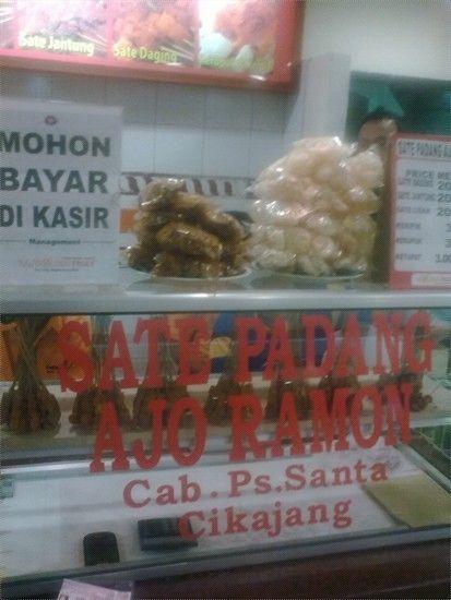 Jakarta Sate Padang Ajo Ramon Pasar Santa