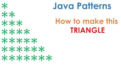 Java67 How To Print Pyramid Pattern In Java Program Exam
