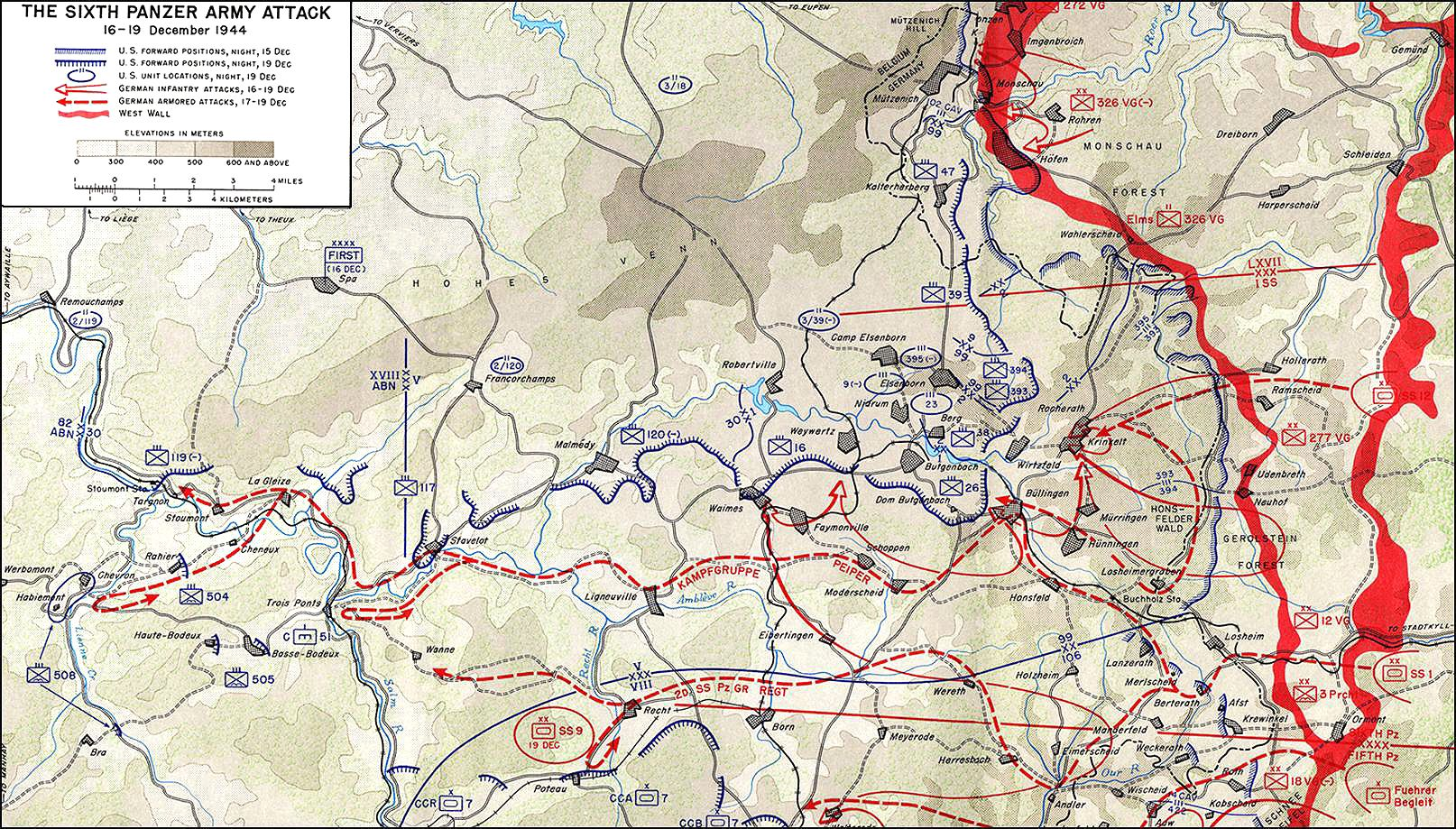 The battle of bulge in belgian ardennes battle of the bulge of the battle of bulge in belgian ardennes gumiabroncs Choice Image