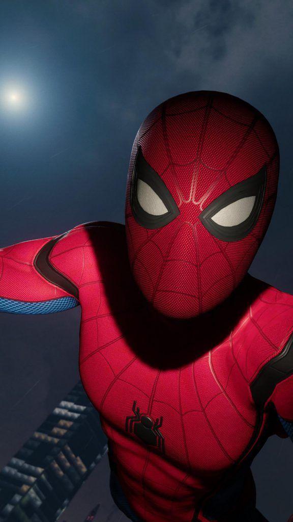 iPhone X Wallpaper Screensaver Background 160 Spiderman 4k ...