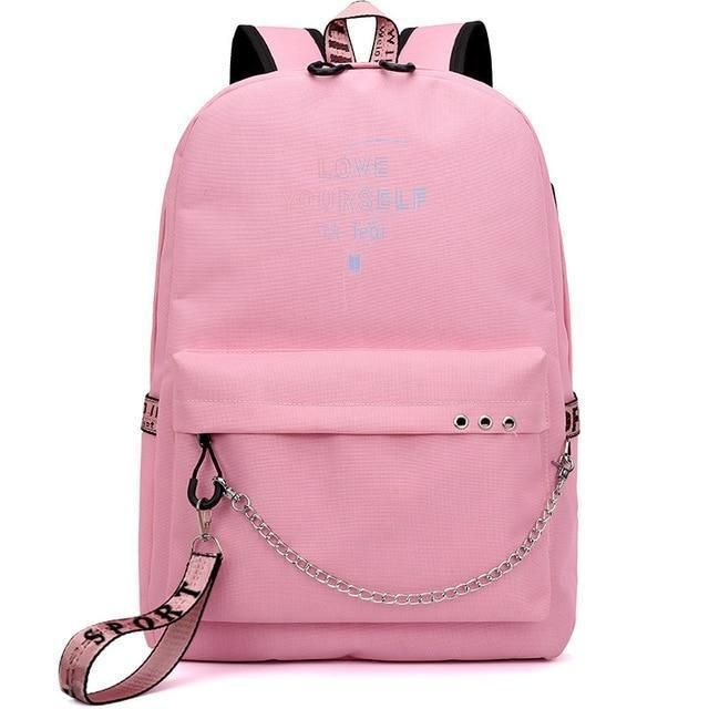 b650c5b12e7f Fashion Bts Backpack School Bags For Teenage Girls Usb Charging Travel  Backpack Suga Bags Print Jimin Rucksack Laptop Backpack
