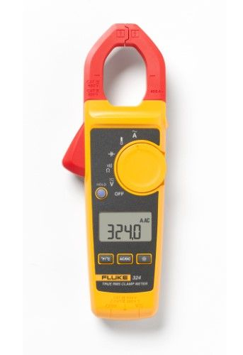 Fluke 324 Clamp Meters Type Standard Style True Rms Yes Infrared Thermometer Clamp House Wiring