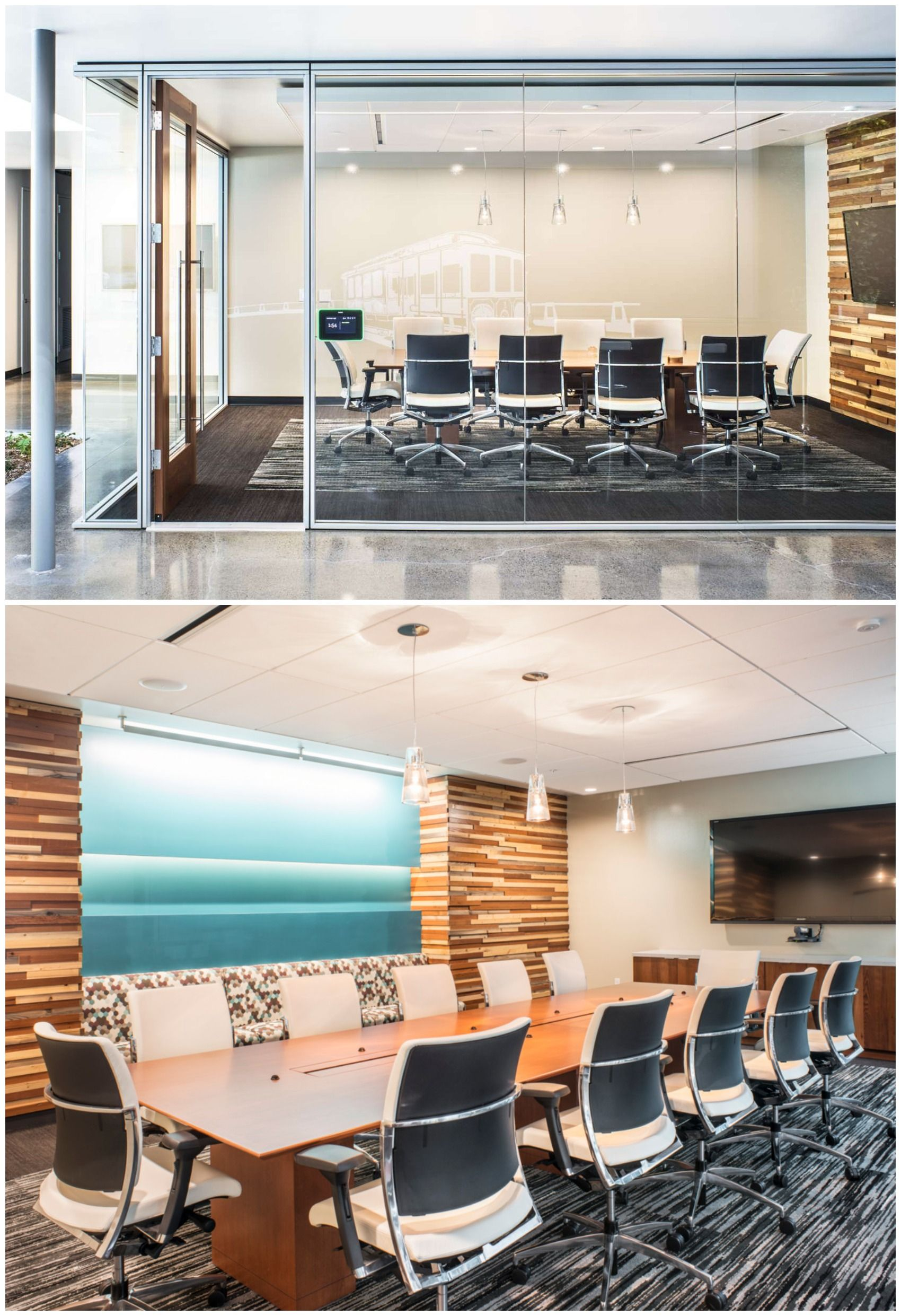 Beautiful DPR Construction Office Conference Room Interior Design