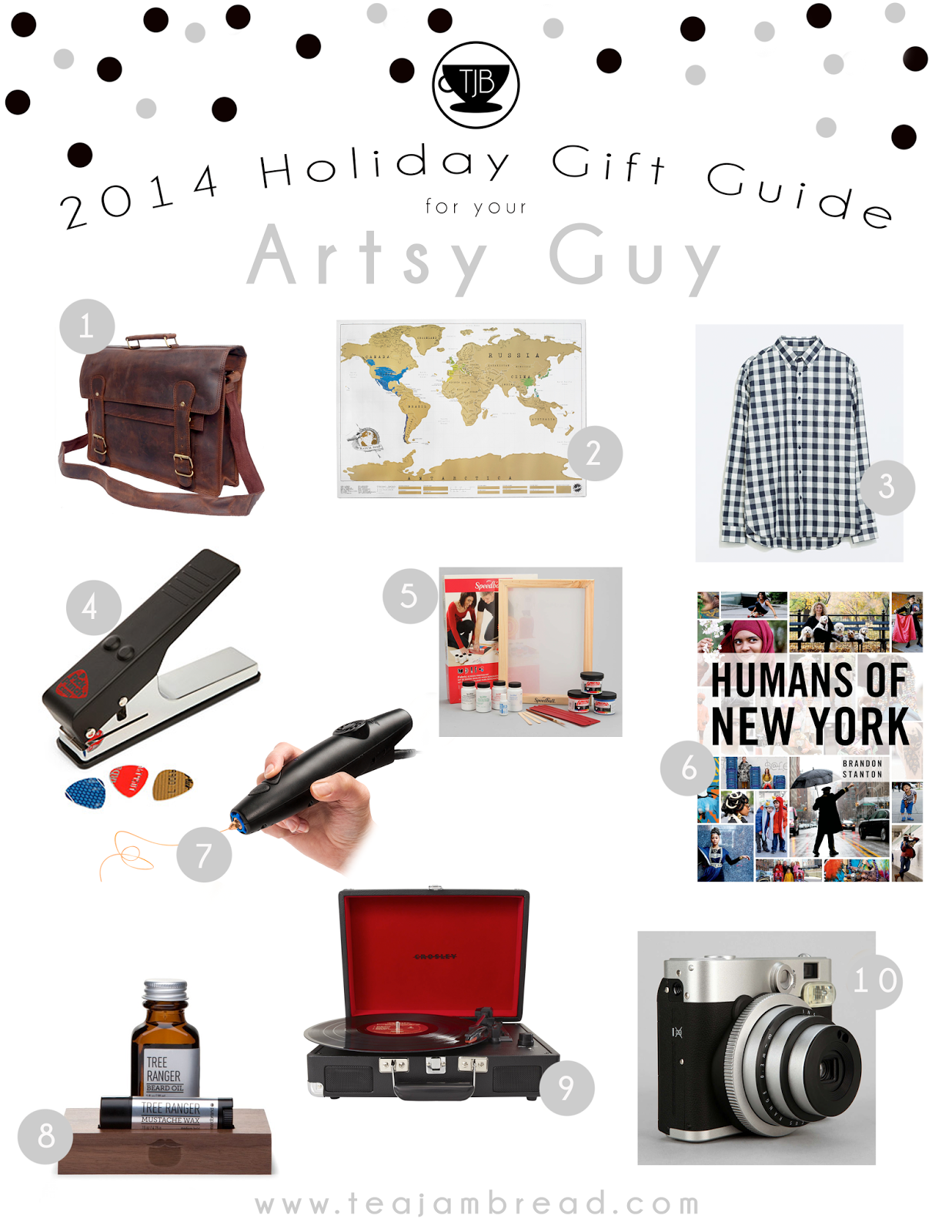 2014 Holiday Gift Guide Artsy Guy