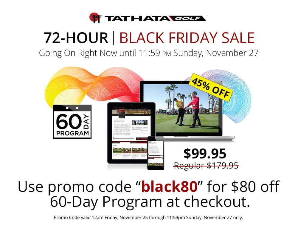Get A Special Promo On The Tathata Golf 60 Day Program Day Golf Promo Codes