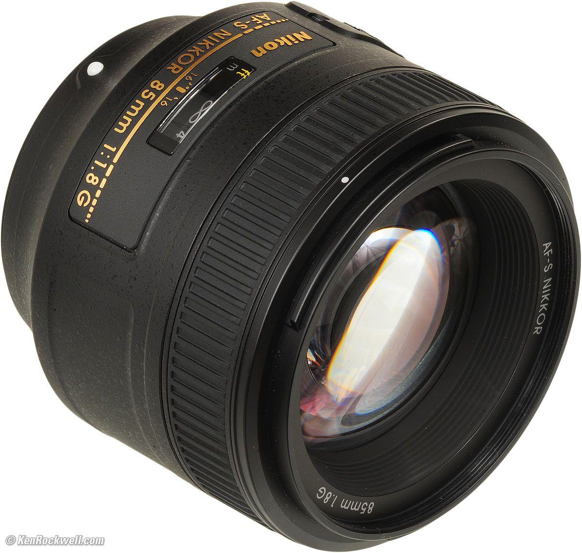 Nikon 85mm F 1 8 Af S G Updated And Optimized For Digital This Fast Aperture Compact Medium Telephoto Fx Format Portrait Le Nikon Nikon Lenses Black Crystals