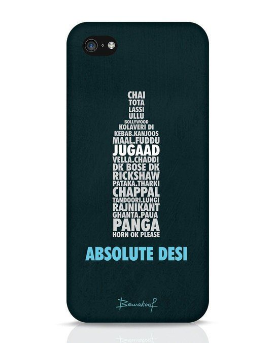 super cute a57f2 cb094 Absolute Desi Iphone 5c Phone Case - Bewakoof.com | Phone Cases ...