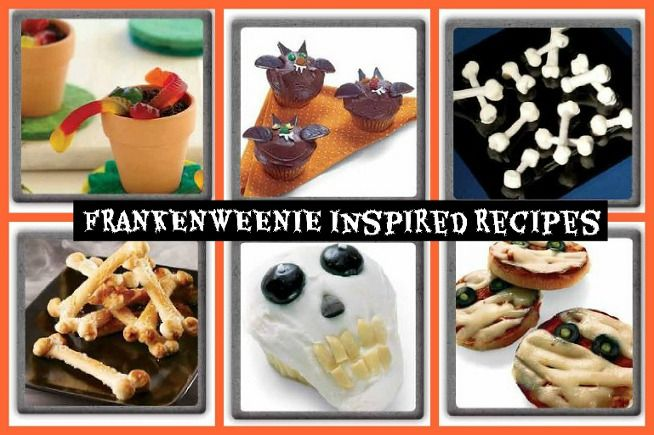 FRANKENWEENIE Halloween Inspired #Recipe Holidays, Giveaway and - halloween party treats ideas