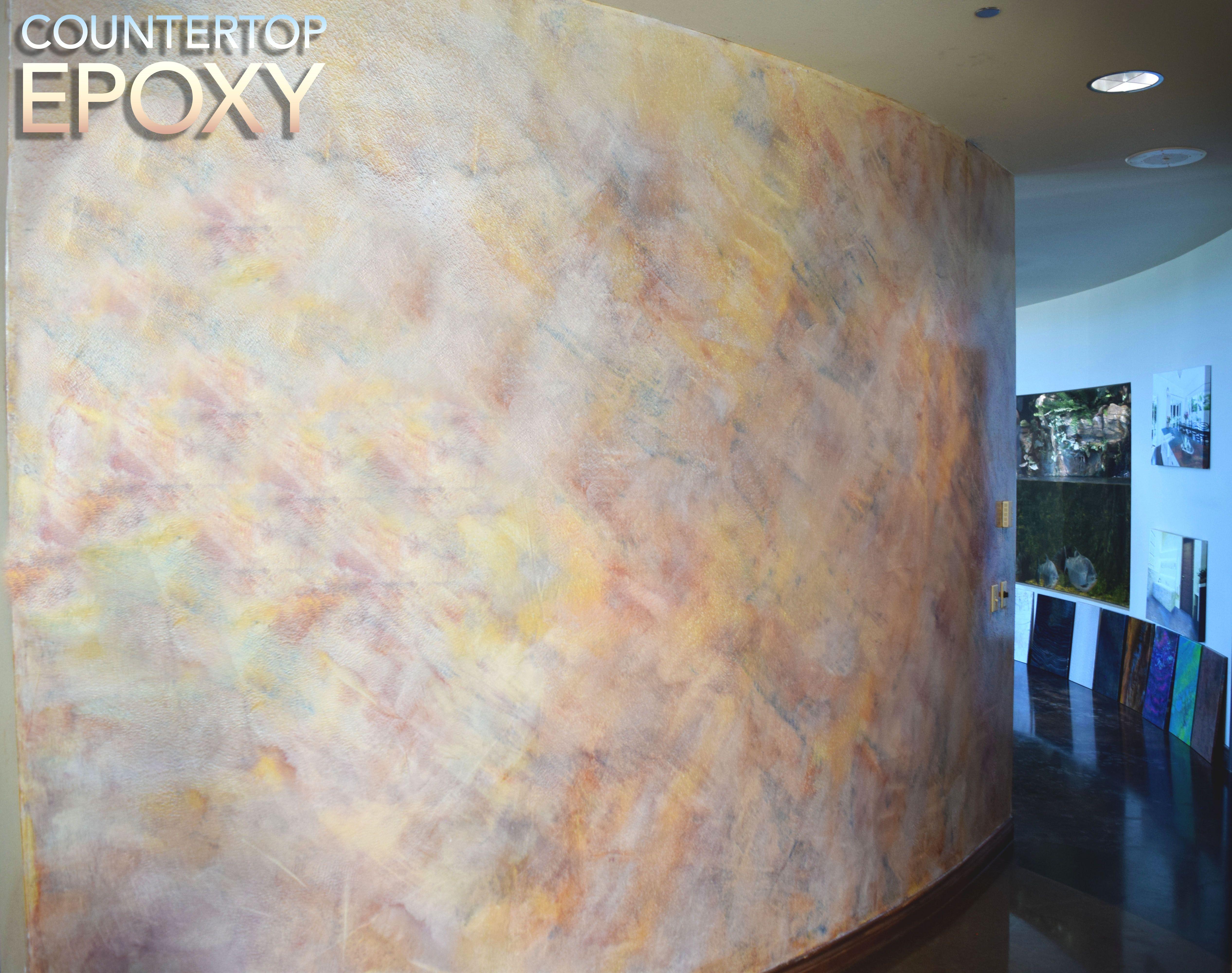 FX Metallic Wall. Epoxy ConcreteShower ...